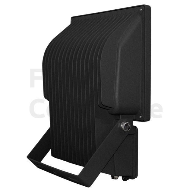 Led bouwlamp 70 Watt warm wit zwarte behuizing