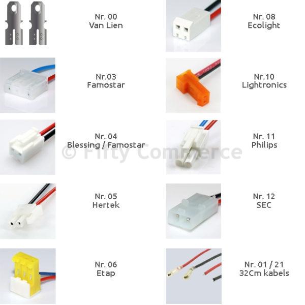 Accu noodverlichting 6V 4500mAh Stick NiCD