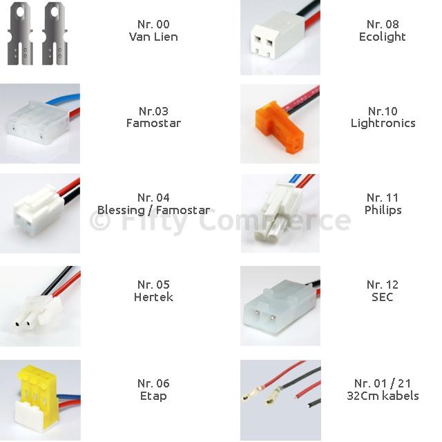 Accu noodverlichting 6V 1500mAh Special Stick NiCD