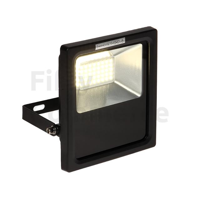 Led bouwlamp 20W zwart