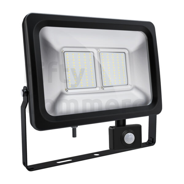 Sensor led bouwlamp 50 Watt koud wit