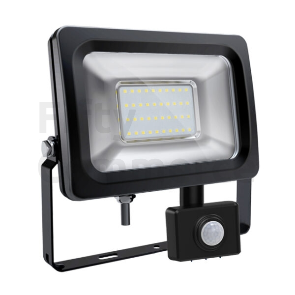 Sensor led bouwlamp 30 Watt warm wit