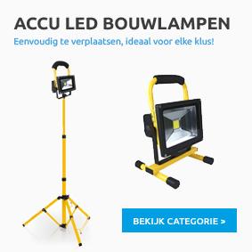 Accu Led Bouwlamp