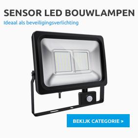 Sensor Led bouwlampen